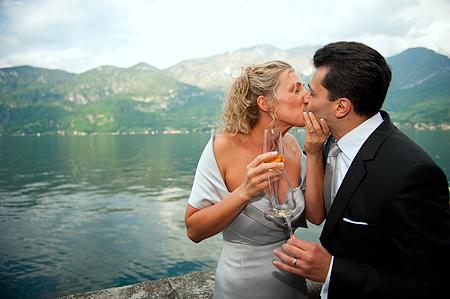 Villa matrimonio lago Como